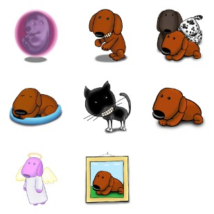 A Dogs Life icon sets preview