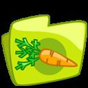 Carrot folder icon