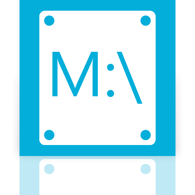 mirror, m icon