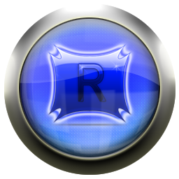 blue, rocketdock icon