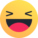 emoji, joy, emot, laugh, smile, reaction, happy icon