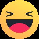 emoji, joy, emot, laugh, smile, reaction, happy icon
