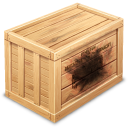 burned, crate icon