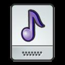 document, music, paper, file icon
