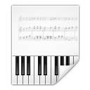 Mimetypes audio midi icon