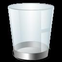 empty, blank, bin, recycle icon