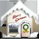 Christmas, Home, Merry icon