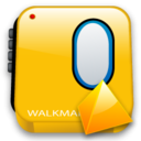 level, walkman icon