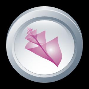adobe, bridge, cs, badge icon