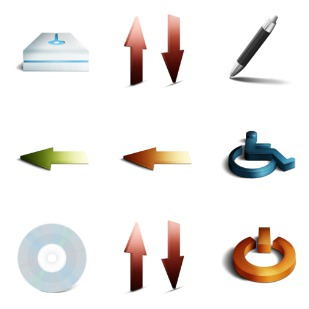 Pulse Pack icon sets preview