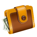 Cash, Checkout, Money, Pay, Wallet icon