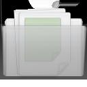 Folder Documents Graphite icon