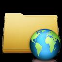 folder, web, classic icon