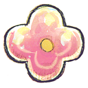 flower, pink icon