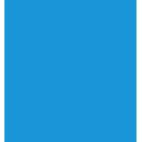 blue, wheelchair icon