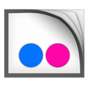 flickr, base, android icon