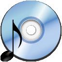 dev, audio, gnome, cdrom icon