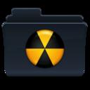 Burn Folder Badged icon