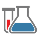 flask, tube, chemistry, chemical reaction, chemical, research icon
