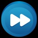 button,fast,forward icon