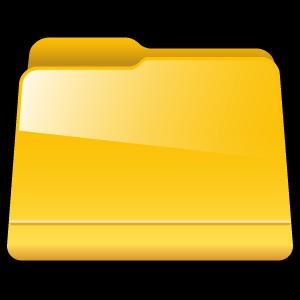 generic, yellow, folder icon