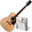 guitar,save,instrument icon