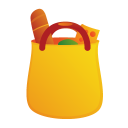 commerce, bag, shopping cart, cart, buy, shopping icon