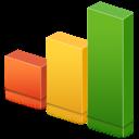 stats, analytics, bars, graph, statistics, chart icon