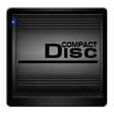 drive, compact, disc icon