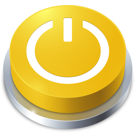 standby, perspective, button icon