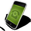 green, dial icon