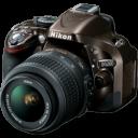 Camera Reflex Nikon D5200 Bronze icon