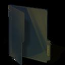 black,folder icon