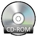 rom, cd icon