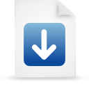 paper, file, blue, document icon