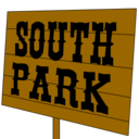 south,park,sign icon