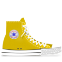 converse,yellow icon