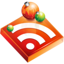rss,christmas,feed icon