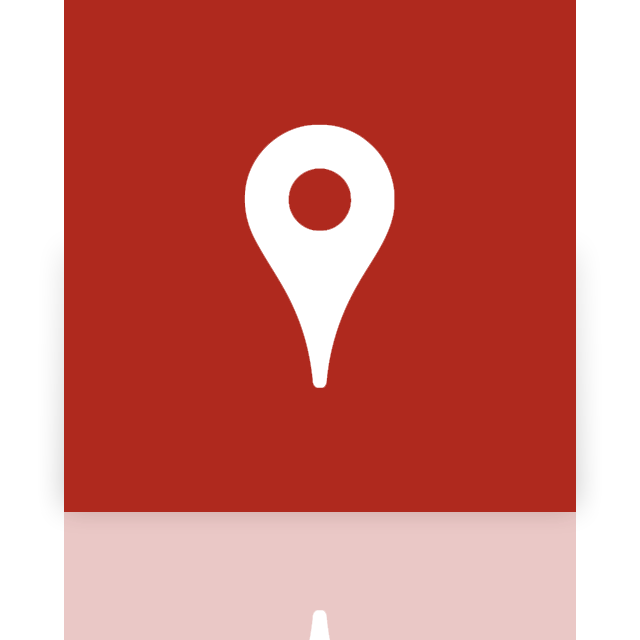 map, mirror, google icon