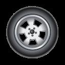 tire, car, transport, auto, automobile icon