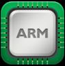 cpu,arm icon
