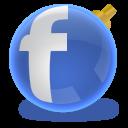 social network, sn, facebook, social, christmas icon