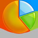 chart, pie icon