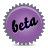 violet, beta, splash icon