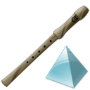 flute,level,instrument icon