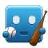 blue, ibaseball icon