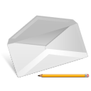message, mail, envelop, email, letter, edit, writing, write icon