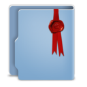 Aquave Wax Seal Folder icon