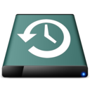 disk time machine icon