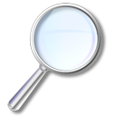 search, find, seek, zoom in, magnifying class, enlarge, magnifier icon